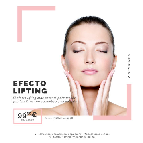 EFECTO LIFTING