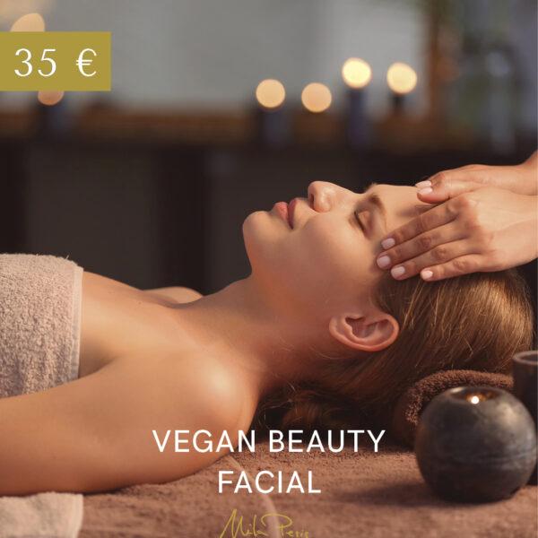 vegan beauty facial